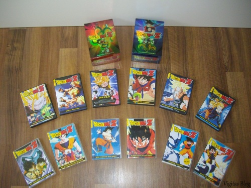 Dragonball Z Filmboxen mit je 6 DVDs