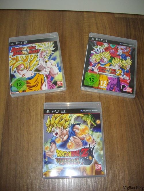 Dragonball Z PS3 Games