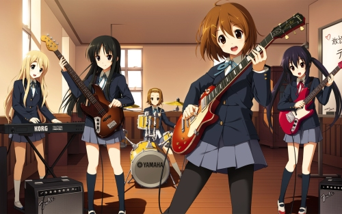 Anime K-ON Christmas special