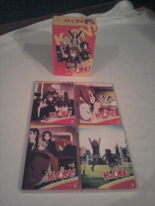 K-ON Vol 1-4 Cover in der LE