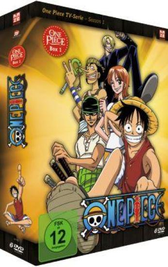 One Piece in deutsch Staffel 1 DVD Box
