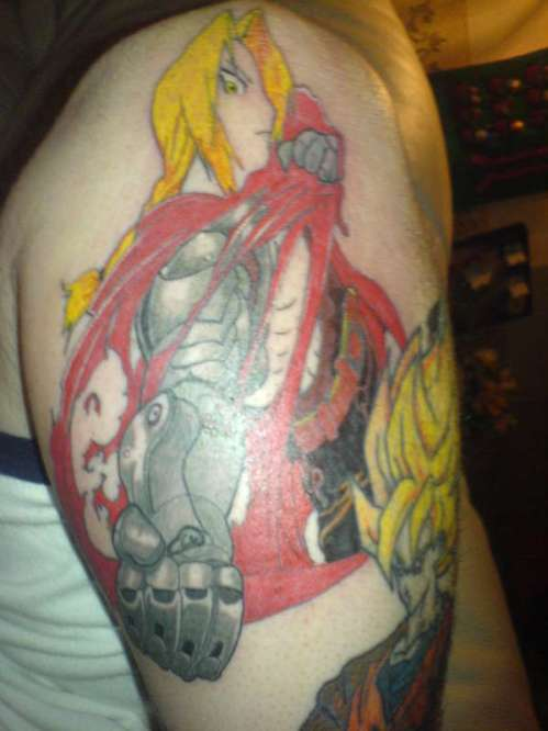 Anime Tattoo FMA