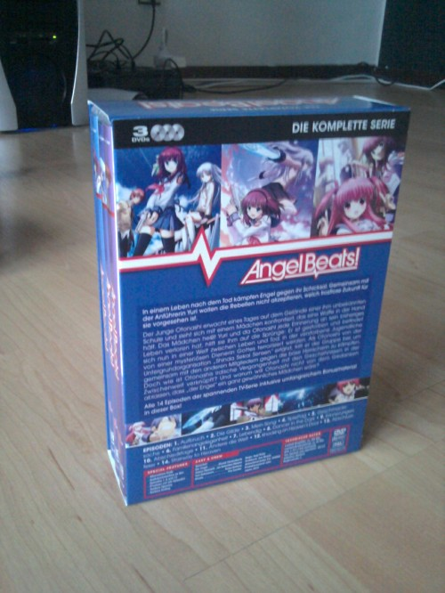 Angel Beats DVD Box