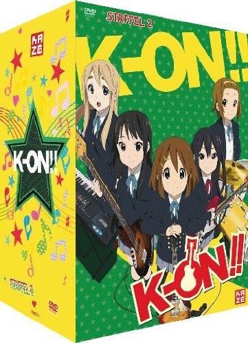 K-ON!! Staffel 2 in Deutsch auf DVD von Kazé
