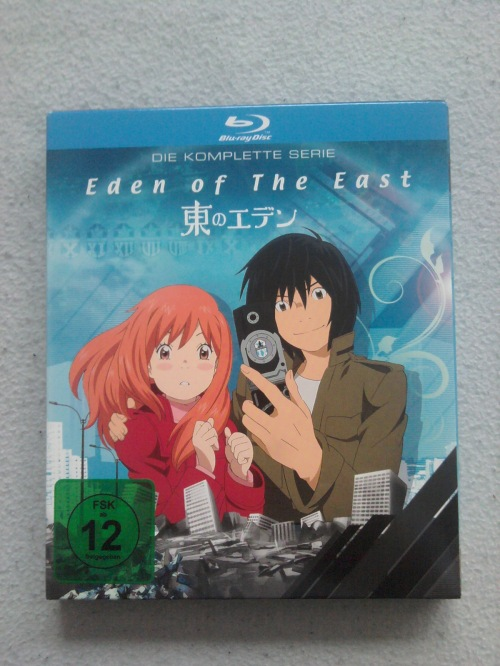 Eden of the East Blu Ray