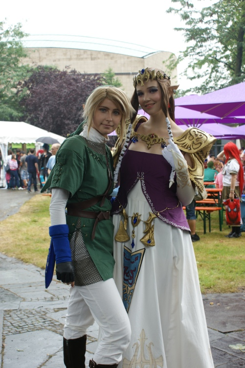 Animagic Cosplay Fotos Link und Zelda