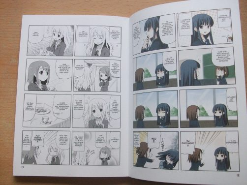 K-ON Manga Deutsch Farbe