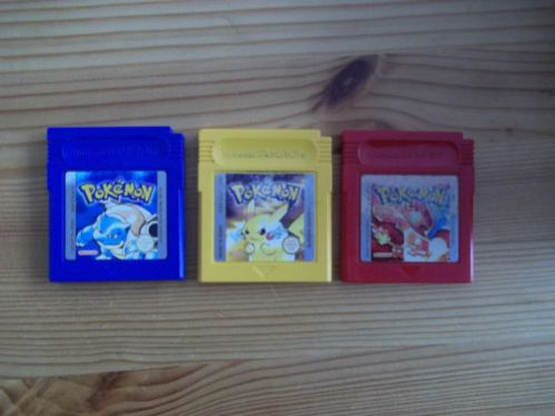 Pokemon Gameboy Spiele