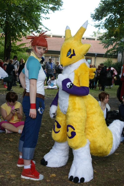 Connichi 2012 Fotos Bilder Cosplay Digimon
