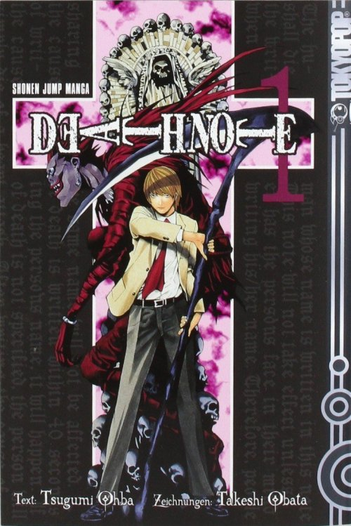 Death Note Manga 1