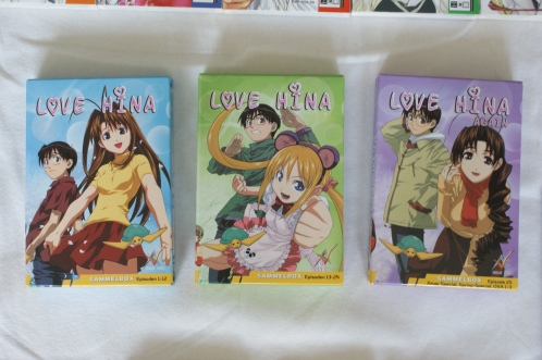 Love Hina DVD Box 1-3