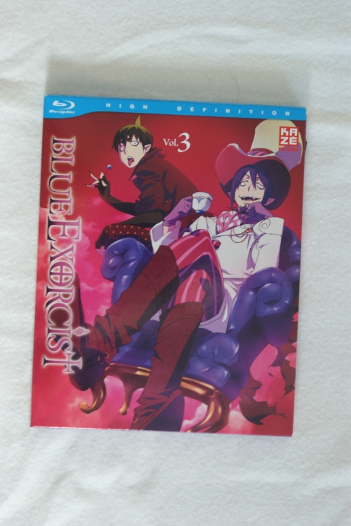 Blue Exorcist Blu Ray Volume 3