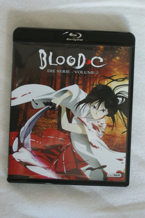 Blood C Vol.2 Blu Ray