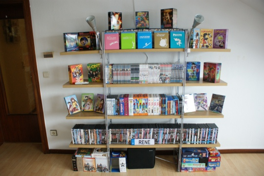 Anime DVDs