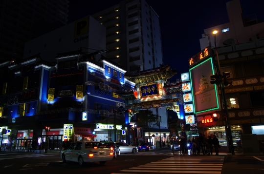 China Town in Japan