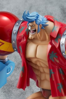 One Piece P.O.P. Sailing Again Franky