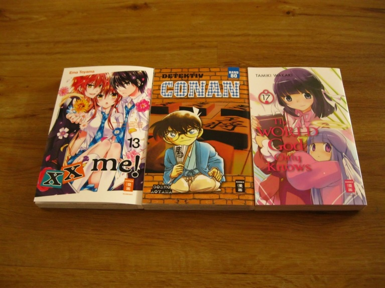 EMA Manga Loot xx me! Detektiv Conan The World God Only Knows
