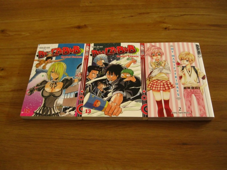 Tokyopop Manga Loot Beelzebub My Magic Fridays