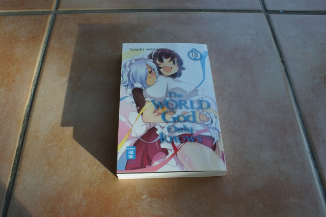 EMA Manga Loot The World God Only Knows